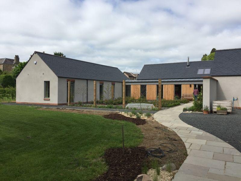 New build St Helens, Melrose